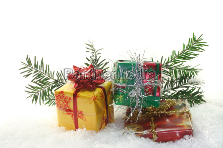 advent parcel christmas box snow christmas