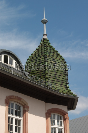 house roof in bad homburg