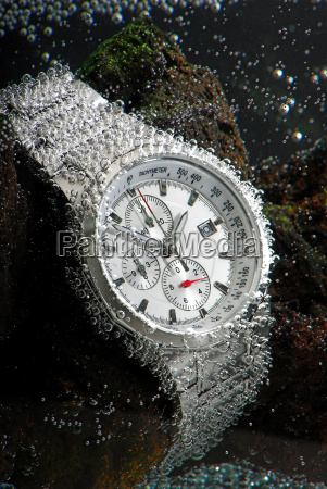 waterproof chronograph watch underwather