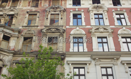 renovation of old buildings old and