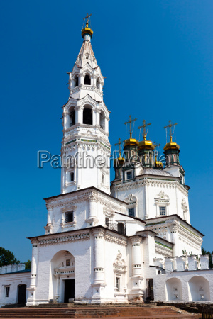 belltower of the piously troitsk cathedral