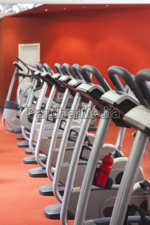 wheels in a gym
