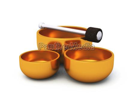 bronze singing bowls