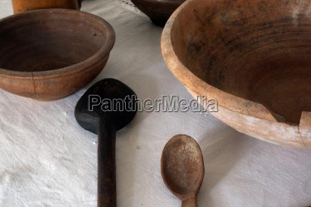 stiillife with ancient utensils