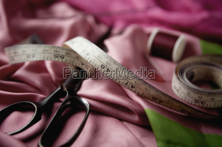 close up of a tape measure