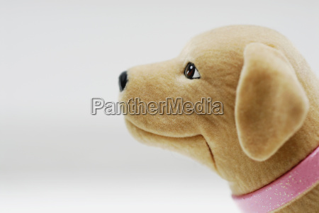 close up of a stuffed toy