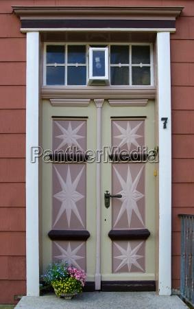 nostalgic door and gate entrance