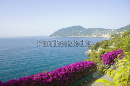 panoramic view of the sea italian
