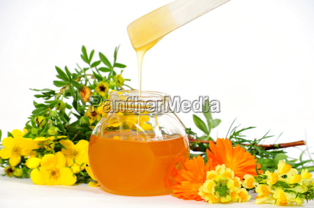 honey wellness glass