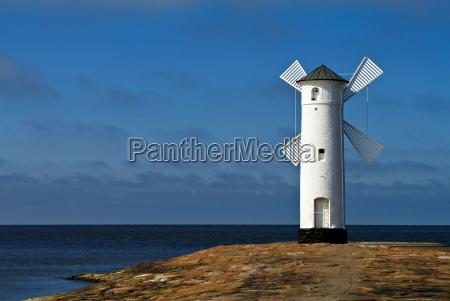 lighthouse in swinoujscie