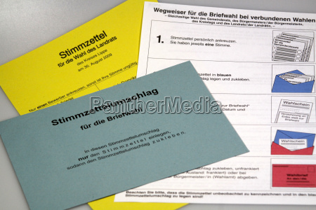 postal ballot documents