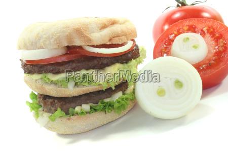 double hamburger