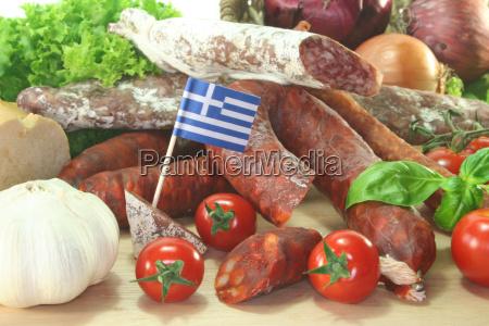 greek salami