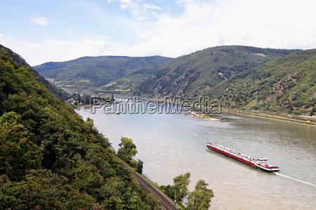 view from castle rheinstein