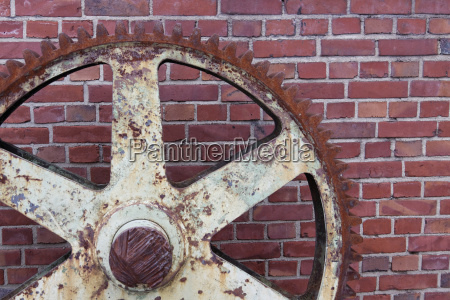 industry engineering wall steel wheel cogwheel