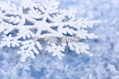 blue wintery background