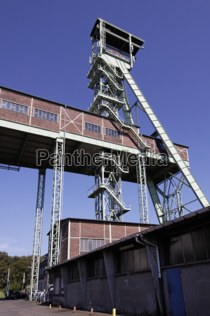 winding tower of the georg mine