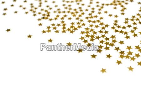 many golden stars