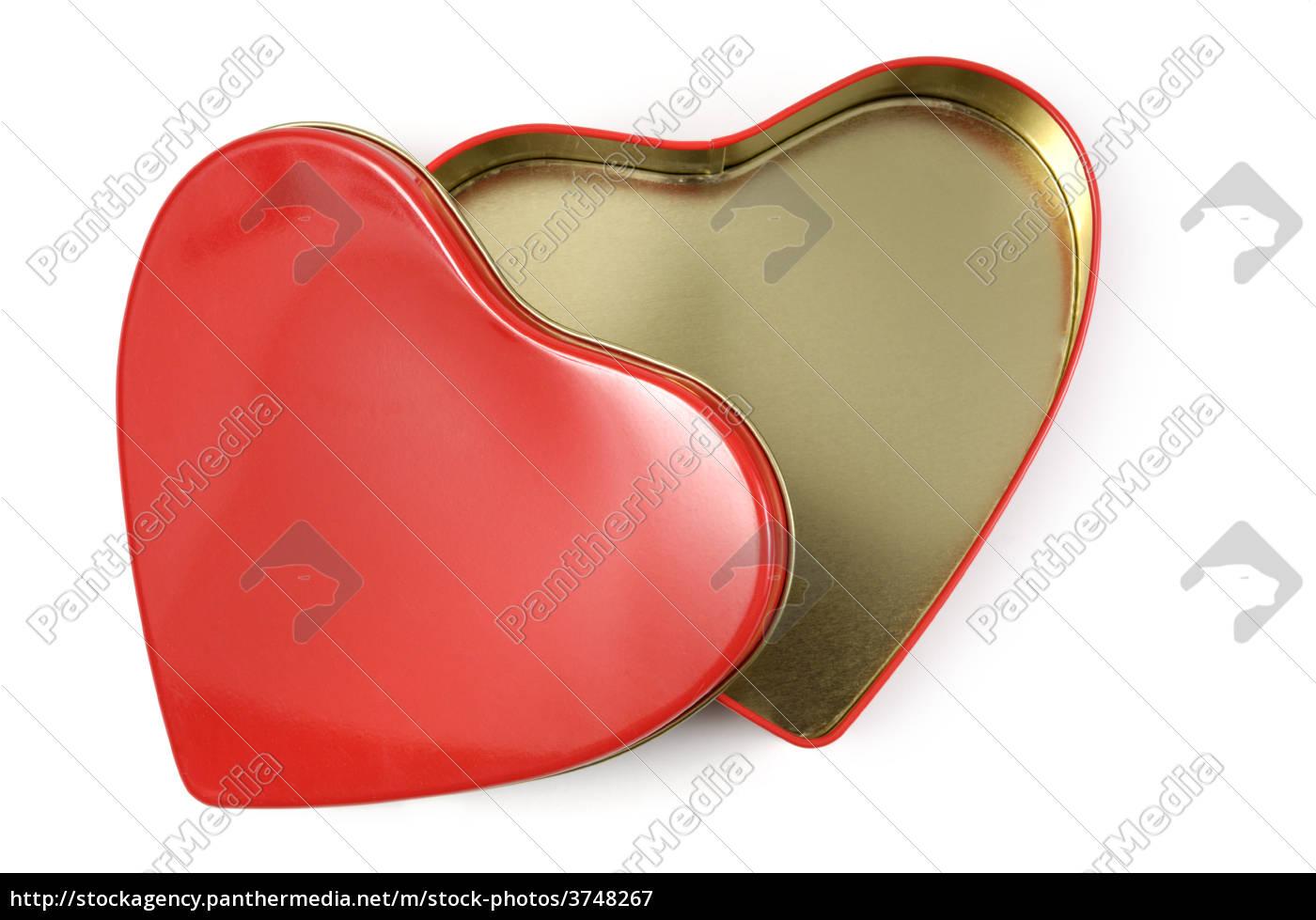 open heart-shaped gift box - 3748267 ...  sc 1 st  PantherMedia & Open Heart-shaped Gift Box - Stock Photo - #3748267 - PantherMedia ...