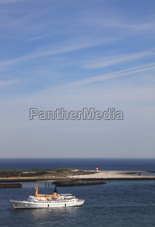 helgoland with a view of the