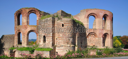 imperial baths in trier