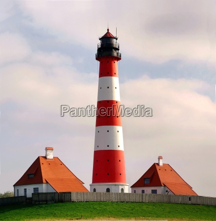 lighthouse westerhever panorama