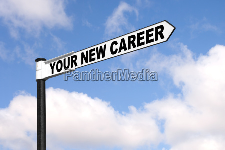 your new career signpost