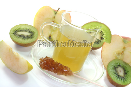 kiwi apple tea