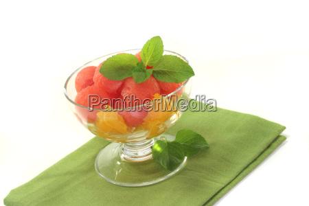 melons oranges salad