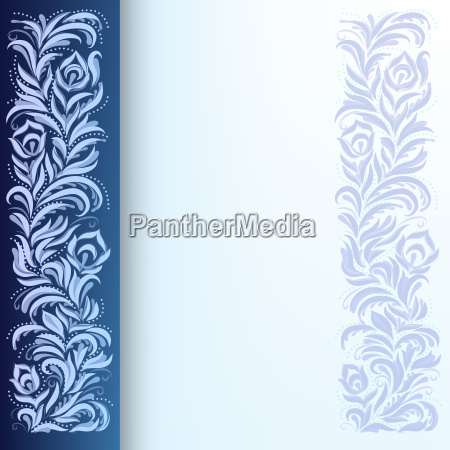 abstract, background, with, floral, ornament - 3864922