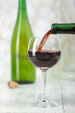 full wine glass