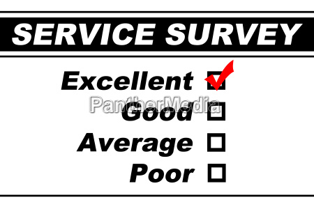 excellent customer service survey