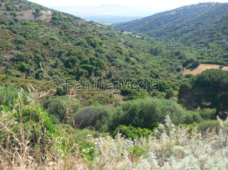 landscape in sardinia 2