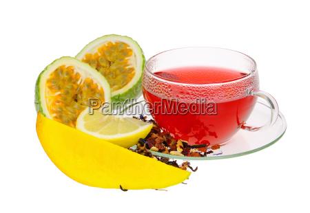tee maracuja mango tea from