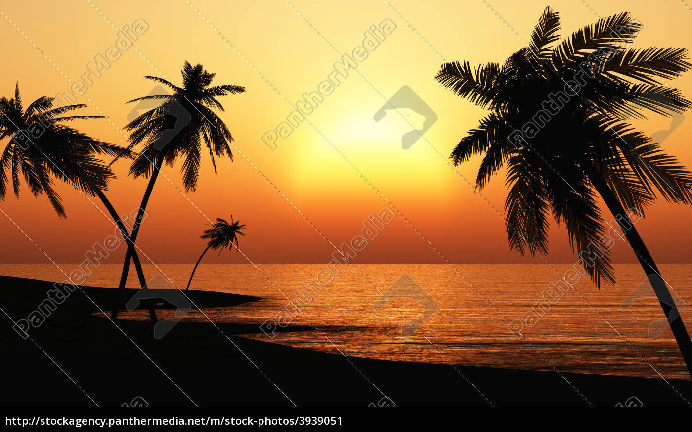 Royalty free image 3939051 - ibiza sunset chillout beach 03