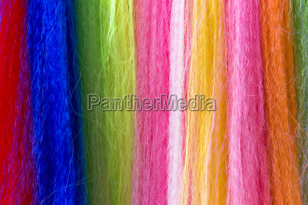 background colorful fibers
