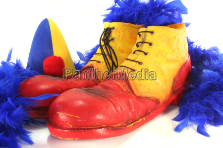 shoes clown carnival size of shoe