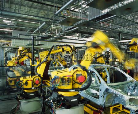 auto produktionslinie