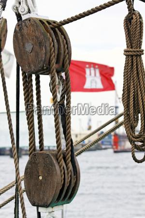 hamburg flag rigging