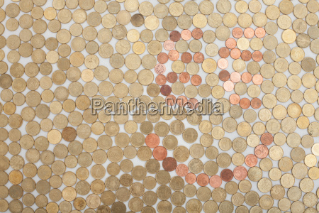 smiley of coins