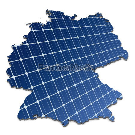 monocrystalline solar cells in an abstract