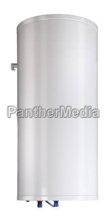 gas boiler isolated on a white