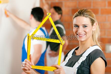 renovating an apartment