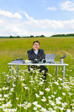 office in the countryside