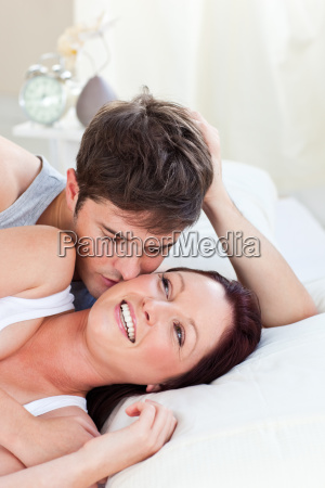 affection affectionate attentive background bed bedroom