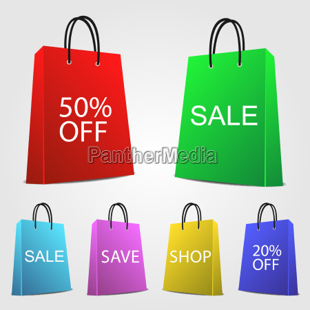 image of various colorful sale and