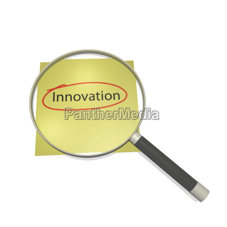 innovation magnifying glass