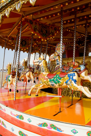 carousel or horse merry go round