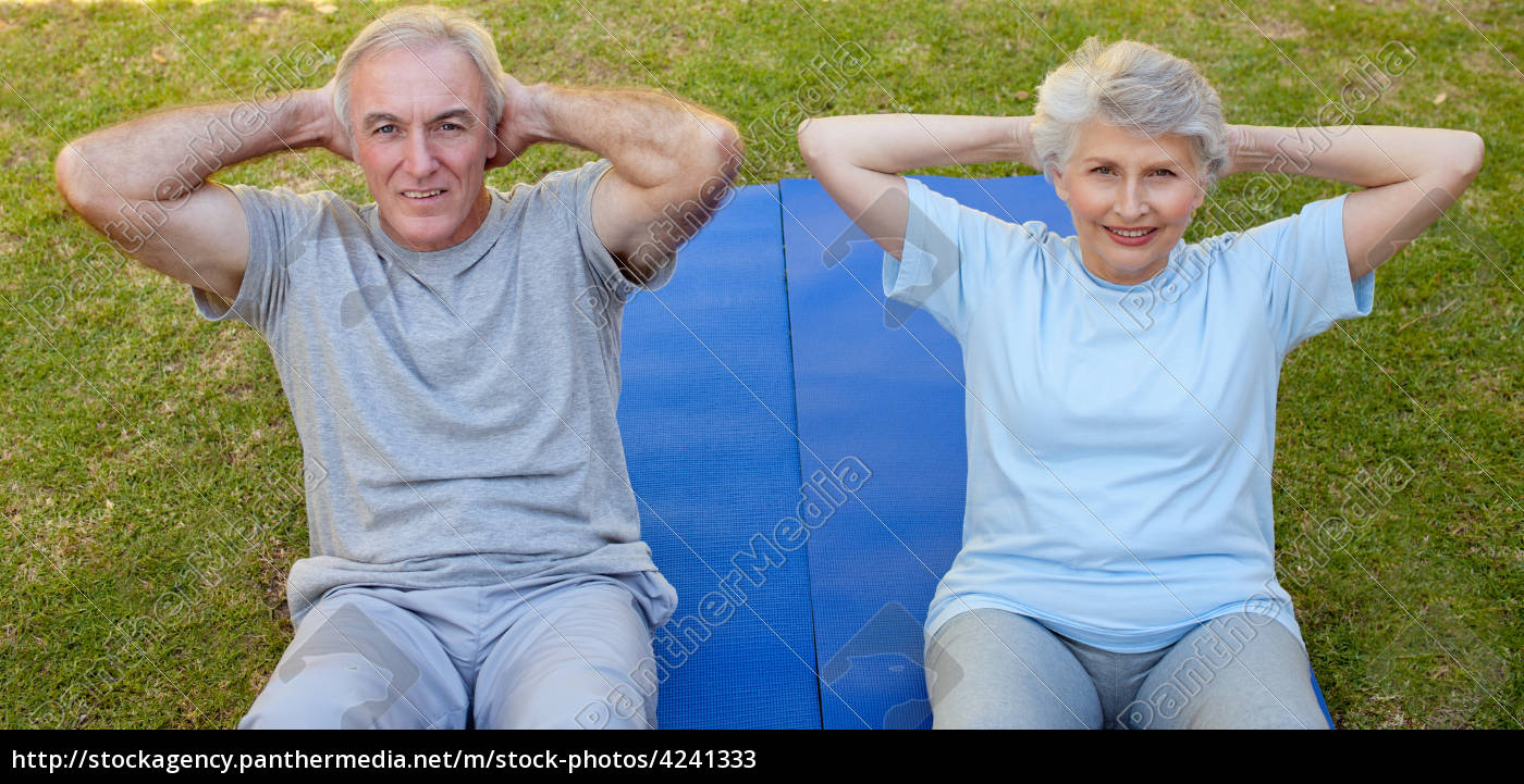 Couple Mature couple mature grandparents grandfather grandmother old - stock photo