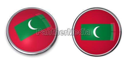 banner button maldives